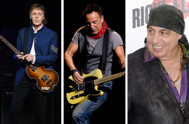 Paul McCartney, Bruce Springsteen, Steven Van Zandt