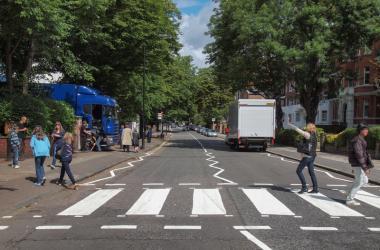 Abbey Road in London