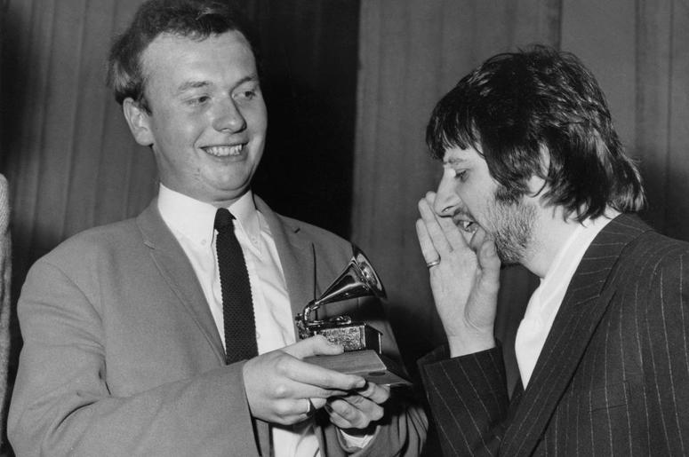 Geoff Emerick And Ringo Starr