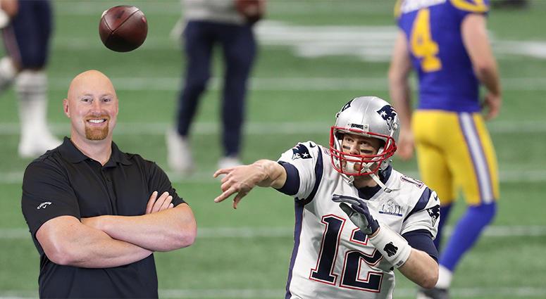 Tom Brady to Cam Cleeland