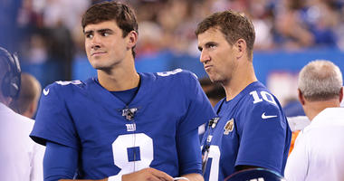 Eli Manning benched, Daniel Jones named Giants' starting QB