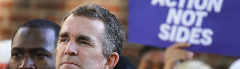 Northam Faces Fundraising Issues