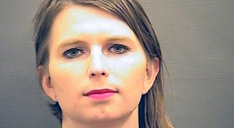 FILE - This undated booking photo provided by the Alexandria Sheriff's Office, in Virginia, shows Chelsea Manning. (Alexandria Sheriff's Office via AP, File)