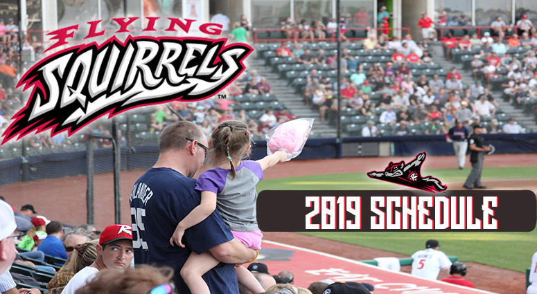 Flying Squirrels Schedule 2019 Flying Squirrels Schedule 2019 | Newsradio 1140 WRVA