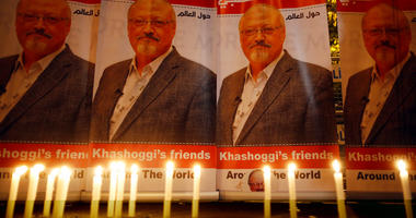 (File photo, candles, lit by activists, protesting the killing of Saudi journalist Jamal Khashoggi, are placed outside Saudi Arabia's consulate, in Istanbul, during a candlelight vigil. (AP Photo/Lefteris Pitarakis, File)