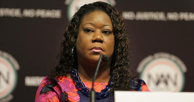 FILE - In this April 3, 2019 photo, Sybrina Fulton participates in a panel at the National Action Network Convention in New York.  (AP Photo/Seth Wenig, File)