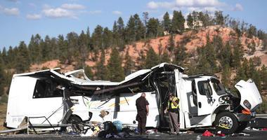 Fatalities In Tourist Bus Crash
