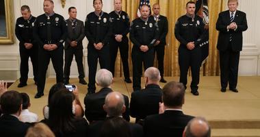 President Trump Honors Law Enforcement Heroes