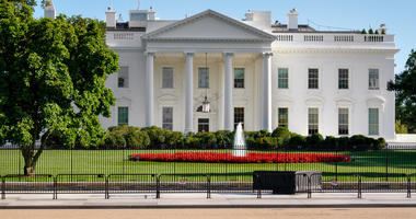 The White House,home of the US President, in Washington DC.(Dreamstime)