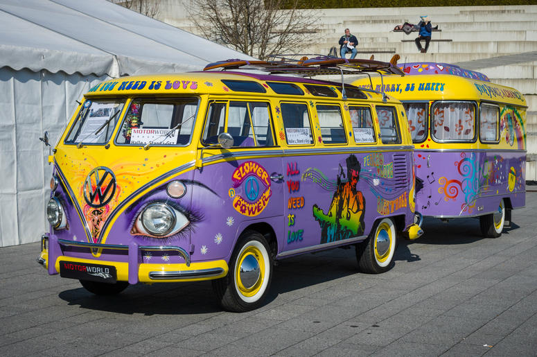 volkswagen  launch groovy  electric vw bus