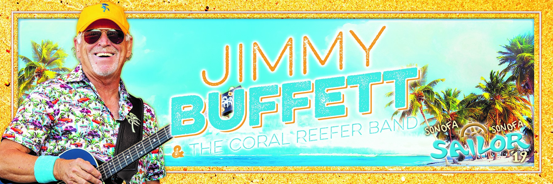 Jimmy Buffett and the Coral Reefer Band   2WD 101 3