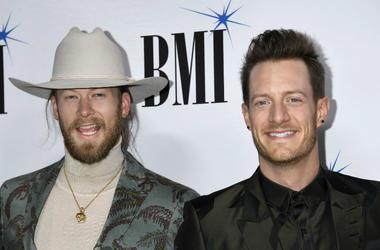 Tyler Hubbard and Brian Kelley, Florida Georgia Line. 2018 BMI Country Awards