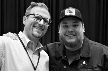 Clay JD Walker with Luke Combs