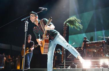Jake Owen performs at the Stagecoach Country Music Festival in 2018