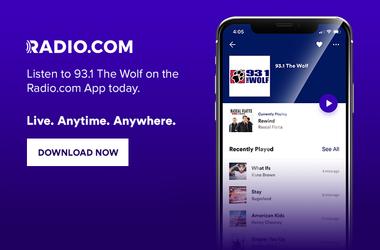 93.1 The Wolf is on Radio.com