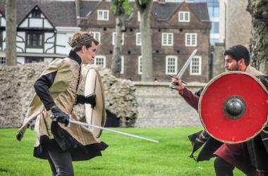 Midieval fight