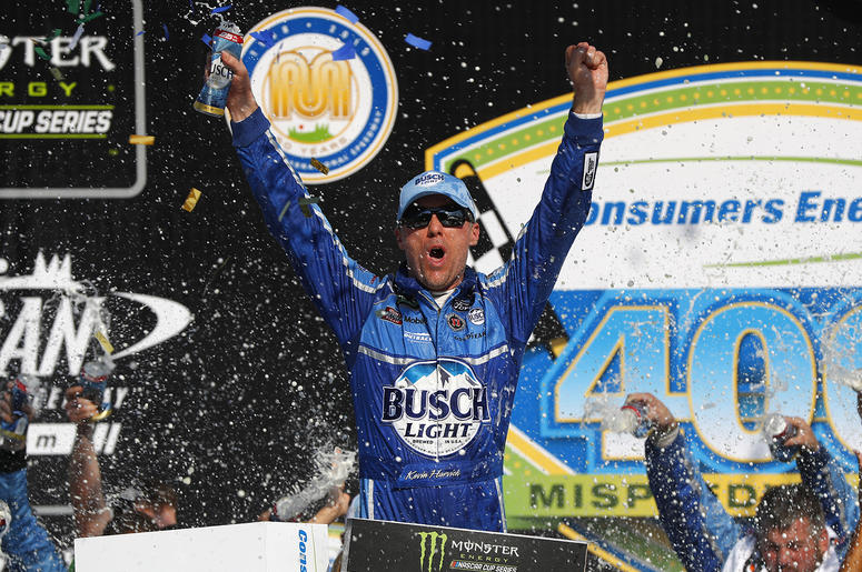 Kevin Harvick wins at Michigan