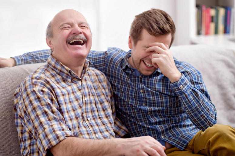 Dads Laughing