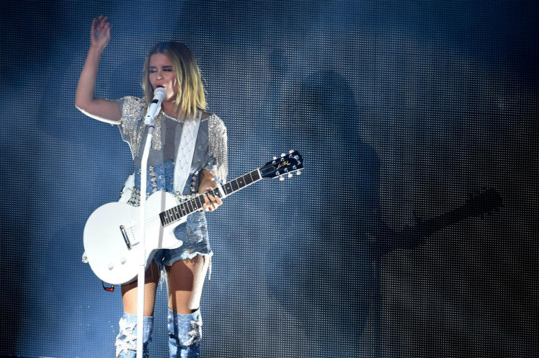 Maren Morris performs during her GIRL The World Tour 2019 at the Ryman