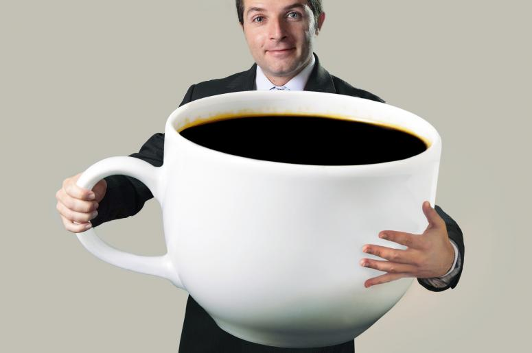 Extra Large Coffee Cup