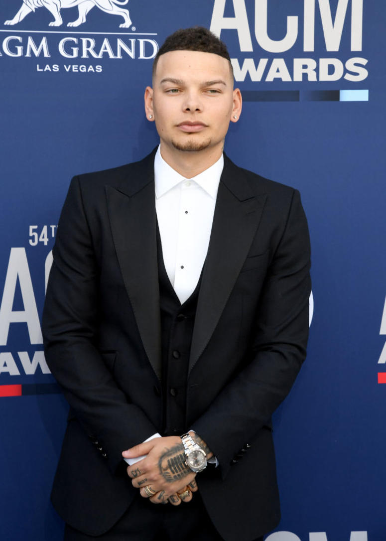 Kane Brown attends the 54th Academy Of Country Music Awards at MGM Grand Hotel & Casino on April 07, 2019 in Las Vegas, Nevada