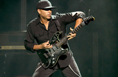 Tom Morello performs at I Am The Highway: A Tribute to Chris Cornell