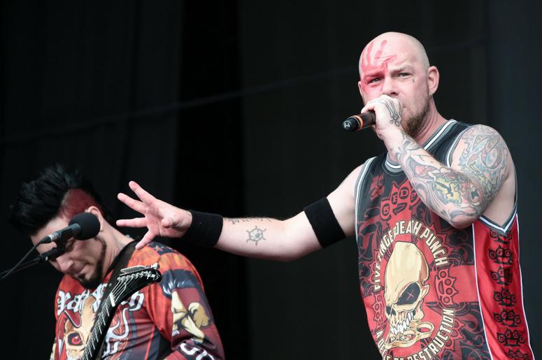 Ivan Moody of Five Finger Death Punch