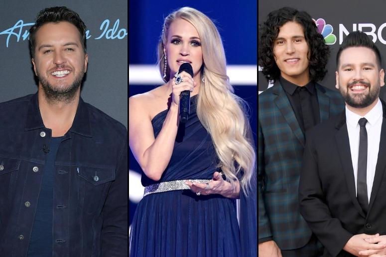 Luke Bryan, Carrie Underwood, Dan and Shay