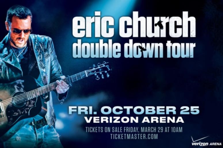 Eric Church Double Down Tour