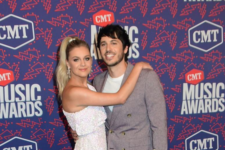 05 June 2019 - Nashville, Tennessee - Kelsea Ballerini, Morgan Evans. 2019 CMT Music Awards held at Bridgestone Arena. Photo Credit: Dara-Michelle Farr/AdMedia/Sipa USA