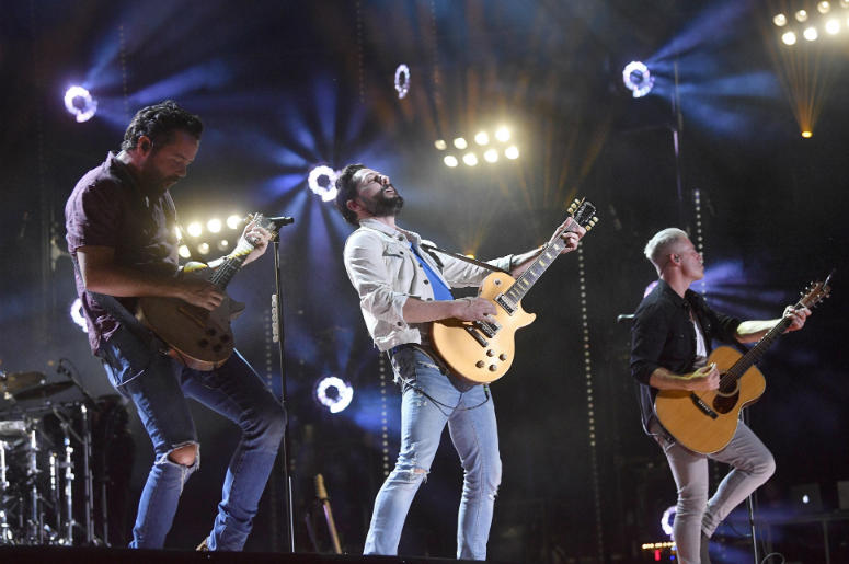 Old Dominion performs at the 2018 CMA Music Fest at Nissan Stadium.