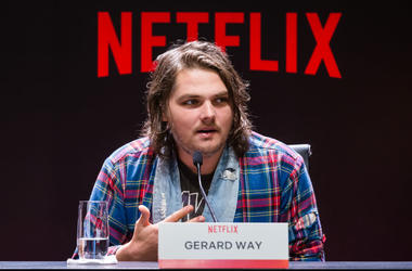 Gerard Way attends the Netflix Original Series 'The Umbrella Academy' Press Conference on December 10, 2018 in Sao Paulo, Brazil