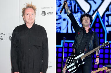 Johnny Rotten And Billie Joe Armstrong