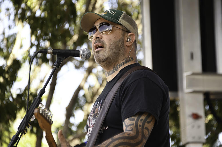 Aaron Lewis performs at the Seminole Hard Rock Hotel