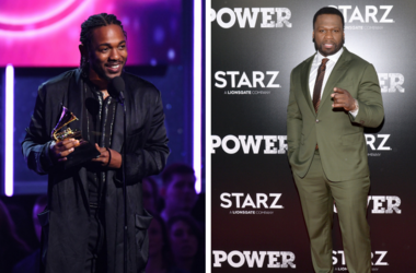 "Kendrick Lamar accepts Best Rap Album during the 60th Annual Grammy Awards at Madison Square Garden / Curtis ""50 Cent"" Jackson attends the Season 5 World Premiere of ""Power"" at Radio City Music Hall in New York, NY, on June 28,2018."