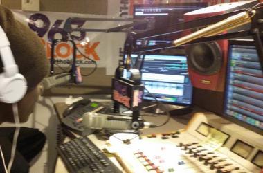 JJ Solomon in the Block Studio