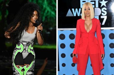 SZA performs on the 2017 BET Awards at the Microsoft Theater on June 25, 2017 in Los Angeles, California / Cardi B at the 2017 BET Awards held at Microsoft Theater on June 25, 2017 in Los Angeles, CA, USA