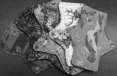 cloth pads, feminine products, girl