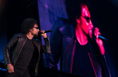 William DuVall of Alice in Chains performs during the Rock in Rio Festival in 2013