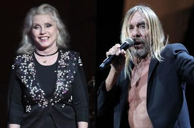 Debbie Harry x Iggy Pop