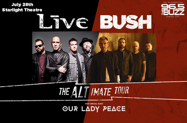 LIVE, Bush & Our Lady Peace