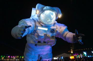 Moon Man at Coachella 2017