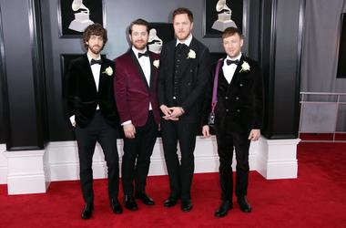 Imagine Dragons at the 2018 GRAMMYs
