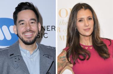 Mike Shinoda and Talinda Bennington