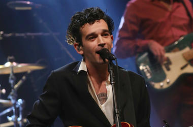 Matthew Healy from The 1975