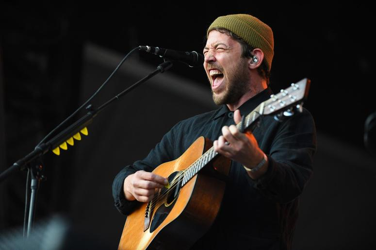 Robin Pecknold of the Fleet Foxes performs during the 2018 Shaky Knees Music Festival