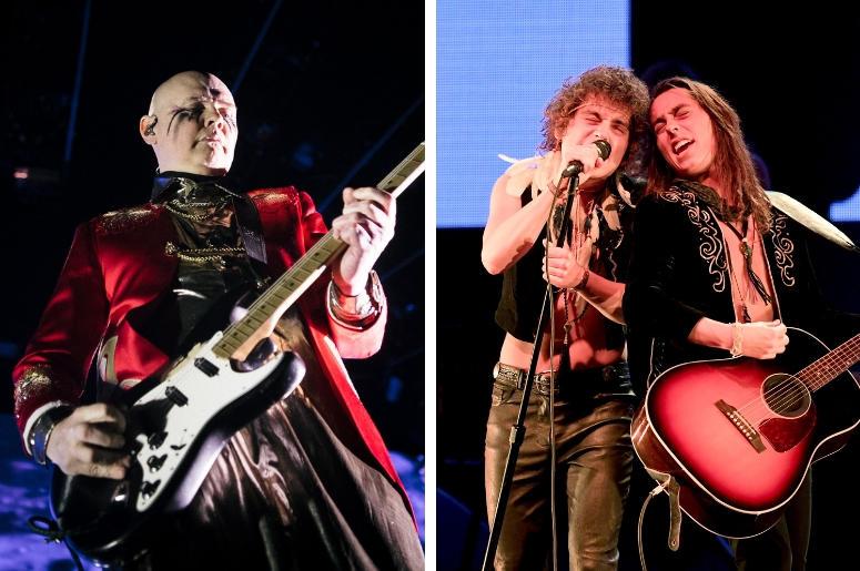 Billy Corgan and Greta Van Fleet