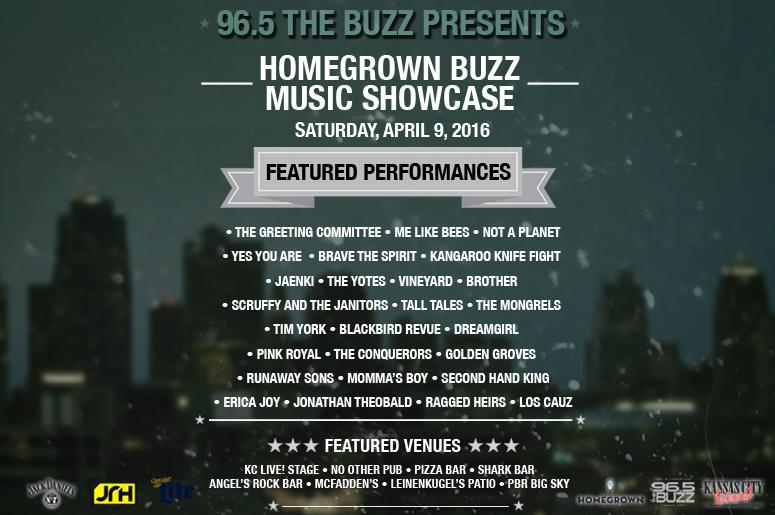 Homegrown Buzz Music Showcase 2016 | 96 5 The Buzz