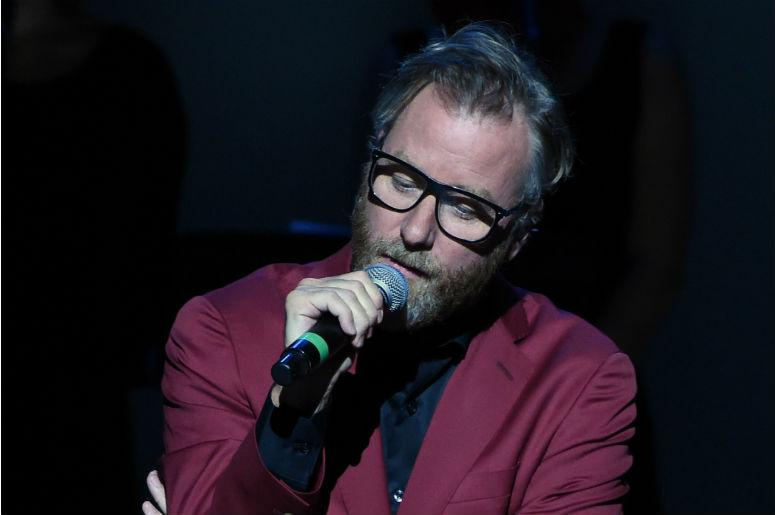 Matt Berninger appears on FOX's Bob's Burgers Live! at the Orpheum Theatre