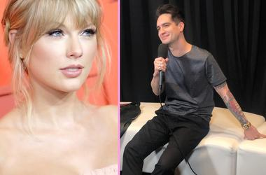 Brendon Urie and Taylor Swift